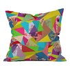 DENY Designs Bianca Green Colorful Thoughts Indoor/Outdoor Throw Pillow