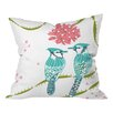 DENY Designs Betsy Olmsted Holiday Birds Throw Pillow