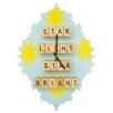 DENY Designs Happee Monkee Star Light Star Bright Wall Clock