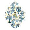 DENY Designs Zoe Wodarz Holiday Lights Wall Clock