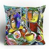 Robin Faye Gates I Should Give Relish a Try Polyester Throw Pillow