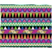 <strong>DENY Designs</strong> Bianca Green Zigzag Polyester Fleece Throw Blanket
