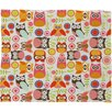 <strong>DENY Designs</strong> Valentina Ramos Cute Little Owls Polyester Fleece Throw Blanket