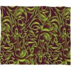 Wagner Campelo Abstract Garden Polyester Fleece Throw Blanket