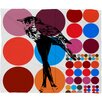 Randi Antonsen Poster Heroins 5 Polyester Fleece Throw Blanket