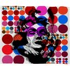 <strong>DENY Designs</strong> Randi Antonsen Poster Heroins 6 Polyester Fleece Throw Blanket