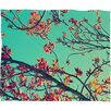 DENY Designs Shannon Clark Summer Bloom Polyester Fleece Throw Blanket