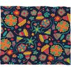DENY Designs Arcturus Bloom 1 Polyester Fleece Throw Blanket