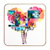 <strong>DENY Designs</strong> Flower 6 by Randi Antonsen Framed Graphic Art Plaque