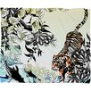 DENY Designs Aimee St Hill Tiger Tiger Polyester Fleece Throw Blanket