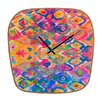 <strong>DENY Designs</strong> Amy Sia Watercolour Ikat Wall Clock