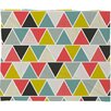 <strong>DENY Designs</strong> Heather Dutton Triangulum Polyesterrr Fleece Throw Blanket
