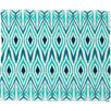 <strong>DENY Designs</strong> Amy Sia Ikat Jade Polyesterrr Fleece Throw Blanket