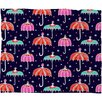 DENY Designs Rebekah Ginda Design Night Shower Polyesterrr Fleece Throw Blanket