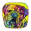 <strong>DENY Designs</strong> Dean Russo Hey Bulldog Wall Clock