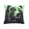 <strong>DENY Designs</strong> Romi Vega Bear Polyester Throw Pillow