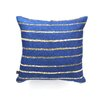 <strong>DENY Designs</strong> Social Proper Nautical Sparkle Polyester Throw Pillow