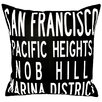<strong>San Francisco Pillow</strong> by Uptown Artworks