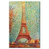 Buyenlarge The Eiffel Tower Painting Print on Canvas