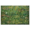 Buyenlarge Patch of Grass by Van Gogh Painting Print on Canvas