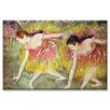 <strong>Buyenlarge</strong> 'Ballet Dancers' Painting Print on Canvas