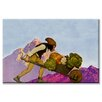 Buyenlarge 'A Knave with a Wheelbarrow' by Maxfield Parrish Painting Print on Canvas