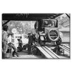 Buyenlarge Havoline Oil Company Motor Oil Change Photographic Print on Canvas