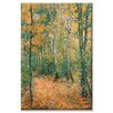 Buyenlarge Wood Lane Painting Print on Canvas