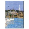 Buyenlarge Cat Boats and Newport Painting Print on Canvas