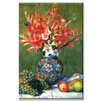 Buyenlarge 'Flowers and Fruit' Painting Print on Canvas