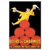 Buyenlarge 'Biere de Charmes' Vintage Advertisement on Canvas