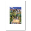 <strong>The Artist's Garden at Vetheuil by Claude Monet Painting Print on C...</strong> by Buyenlarge