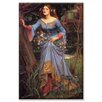 <strong>'Ophelia' Painting Print on Canvas</strong> by Buyenlarge