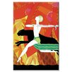 Buyenlarge Mowgli and the Black Panther Graphic Art on Canvas