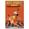 Buyenlarge Best Sports Magazine Basketball Vintage Advertisement on Canvas