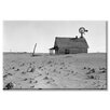 Buyenlarge 'Dust Bowl Farm' Photographic Print on Canvas
