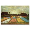 <strong>Buyenlarge</strong> 'Flower Beds of Holland' Painting Print on Canvas