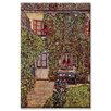 <strong>Buyenlarge</strong> 'The House of Guard' Painting Print on Canvas
