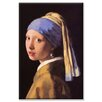 Buyenlarge The Girl with the Pearl Earring Painting Print on Canvas