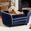 Enchanted Home Pet Ultra Plush Snuggle Dog Sofa