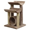 New Cat Condos Cat Scratch Post & Sleep Station