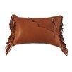 Wooded River Deerskin Pillow