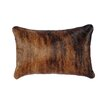 Wooded River Stampede Fabric Back Pillow