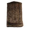 Wooded River Lynx Faux Fur Throw
