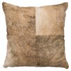 Wooded River Leather Hair on Hide Pillow