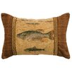 Wooded River Reel Time Pillow