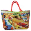 <strong>Summer Abroad Seaside View Circa 1940'S Tote Bag</strong> by Filos Design