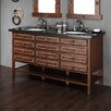 "<strong>James Martin Furniture</strong> Tacoma 60"" Double Vanity Base"