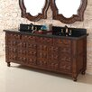 "James Martin Furniture Castilian 72"" Double Vanity Base"