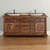 "James Martin Furniture Mykonos 72"" Double Vanity Base"